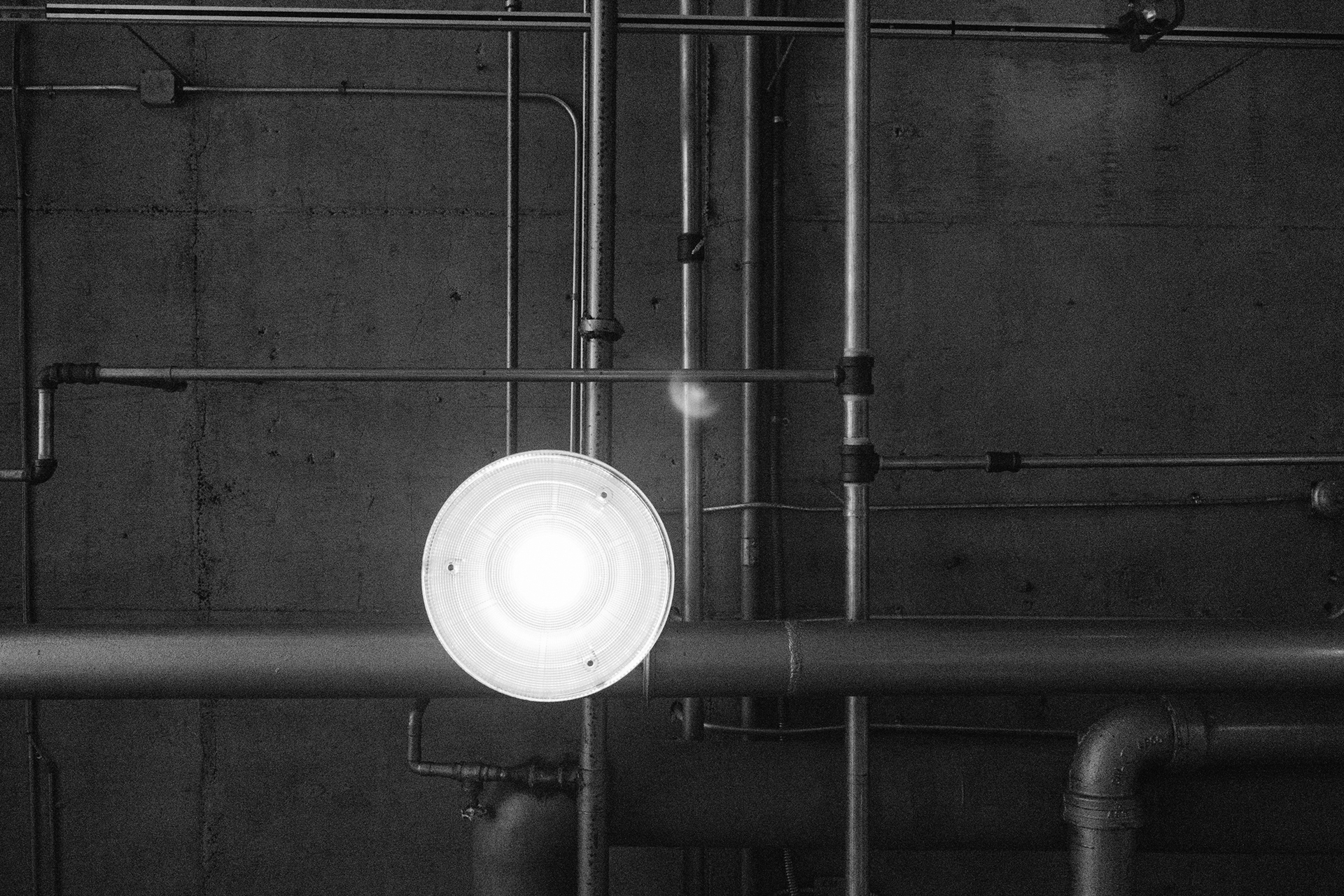 black-and-white-industry-factory-lamp